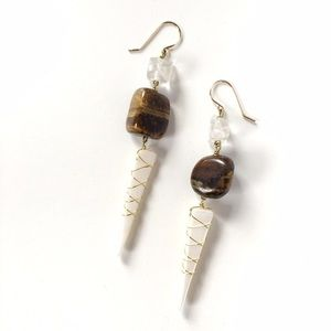 MJXL Jewelry Jewelry - Gentle Warrior handmade earrings