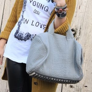 Alexander Wang Handbags - Authentic Gray Alexander Wang Rocco Bag