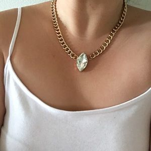 Jewelry - Crystal Chain Necklace