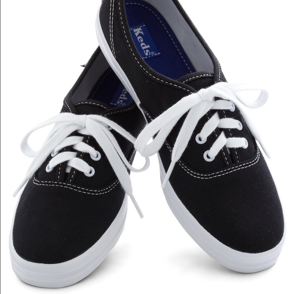 0a04c6278d3e4 keds Shoes - Classic Keds Champion Canvas black   white sneaker
