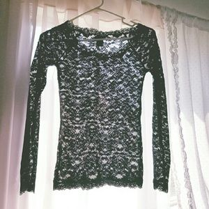 FINAL SALE! Lace blouse!