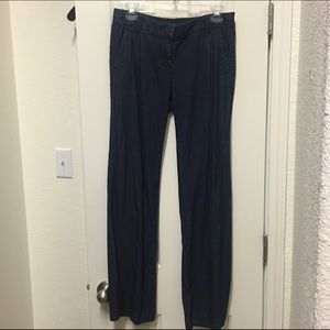 J crew denim trouser pant