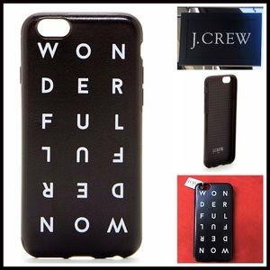 J. Crew Accessories - J. Crew iPhone 6 CASE