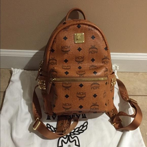 b48ae17b34b388 MCM mini side stud backpack SALE! M_5766a91d41b4e07bde001e5a
