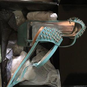 Marco Santi Shoes - Marco Santi turquoise sandals.