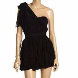 French Connection black mini dress!!