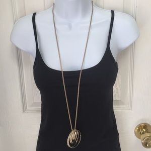 Charming Charlie Jewelry - Long ring necklace