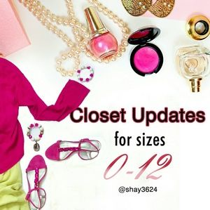 ❤LIKE This Listing for Closet Updates