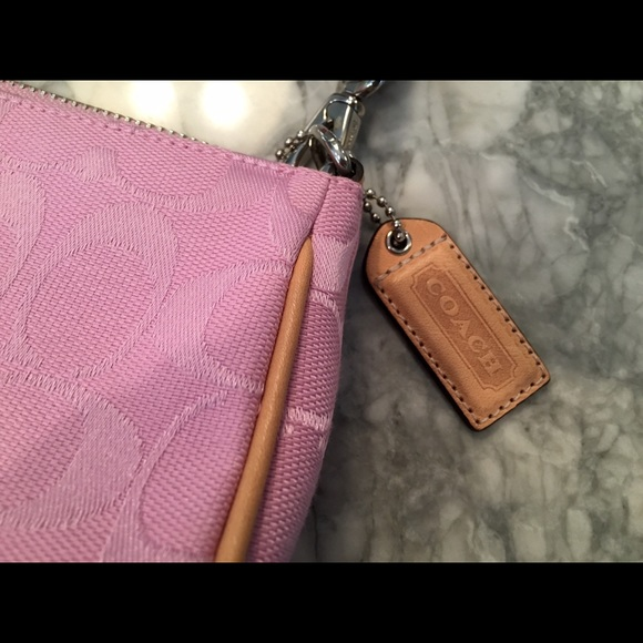 coach light pink coach purse from saras closet on
