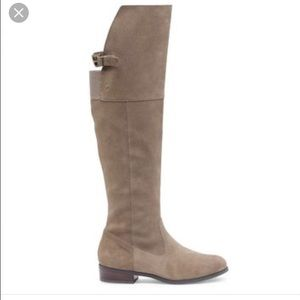 Sole society suede knee high boots