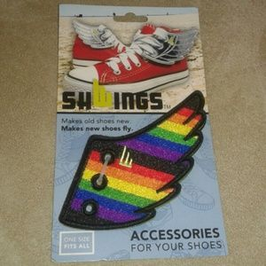 Shwings Shoes - Shwings Rainbow Fly Wings Accessories