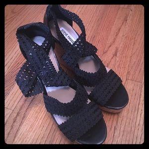 Steve Madden Shoes - 9.5 Steve Madden Wedges