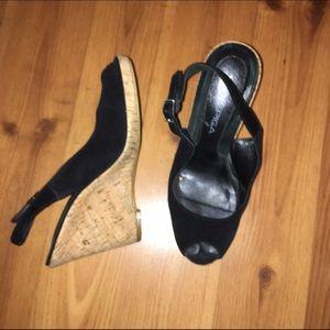 Via Spiga Shoes - FINAL PRICE Via spiga suede wedges