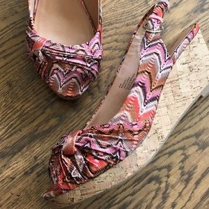 NWOT Nine West wedges- pregnant everything must go
