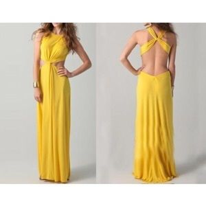 "BCBG BRAND NEW ""Oleysa Draped Dress"""