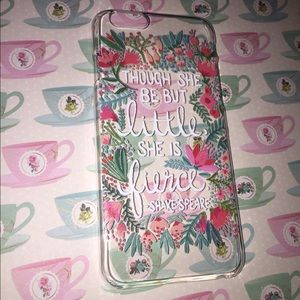 Accessories - Adorable IPhone 6 case with Shakespeare quote