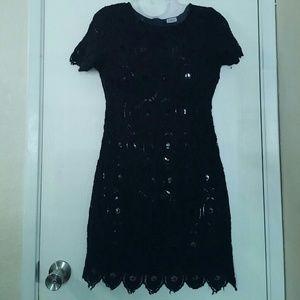 Charming Charlie Black Dress, Sz. S/M