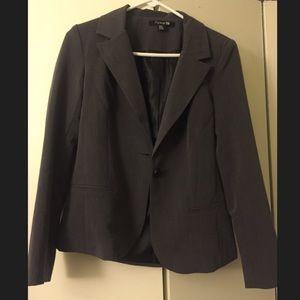 Forever 21 Gray blazer, M. NWOT