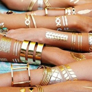 Flash Tattoo Accessories - Metallic tatoos