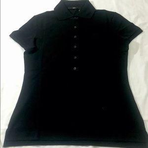6761f75d1f3 Hugo Boss Tops - HUGO BOSS LADIES BLACK POLO SHIRT Size S
