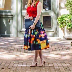Chicwish Skirts - Chicwish Neon Light Midi Skirt