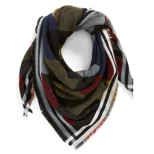 BP. Colorblock Blanket Scarf