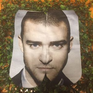 Just in! Justin Timberlake face socks!!