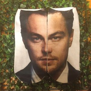 Just in! Leo DiCaprio face socks!!