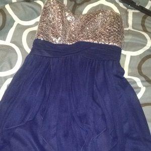 Dresses & Skirts - A strapless dress bought from Dillard's.
