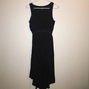 Forever 21 black hi-low dress