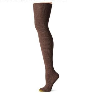Gold Toe Accessories - New Gold Toe Over the Knee Brown Socks