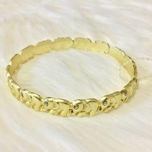 Jewelry - Elephant gold Bangle