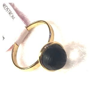 Alexis Bittar Jewelry - Alexis Bittar Lucite Mini Sphere Ring in Black NWT