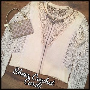 HP OPEN EMBROIDERED LACE