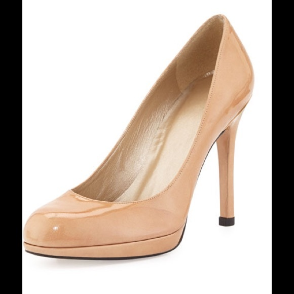 cheap best buy cheap low price Stuart Weitzman Patent Leather Round-Toe Pumps sale for sale largest supplier cheap online discount in China E3AlfU
