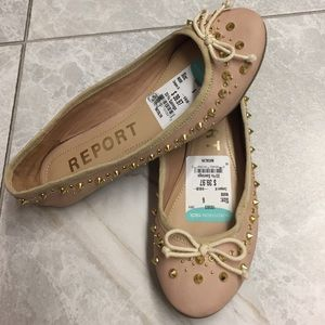 Report Shoes - Report ballet spiked flat