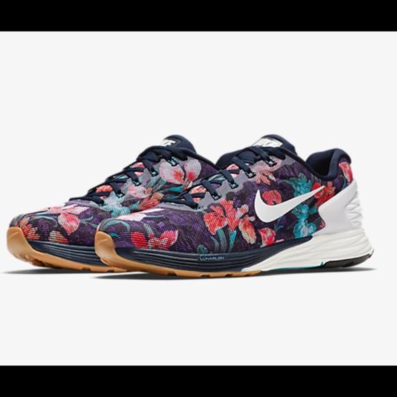 more photos 0d3f1 a1f42 Nike Lunarglide 6 Photosynthesis Floral Women s. M 57640cff291a351a15002a66