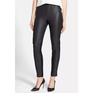 Trouve Pants - Trouve faux front leather leggings