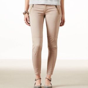 American Eagle Moto Pants Peach