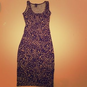 Dresses & Skirts - Leopard fitted dress