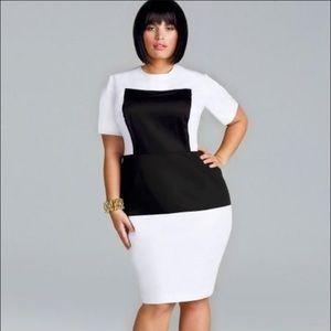 Monif C. Dresses & Skirts - Plus Size 'Mara' short sleeve dress