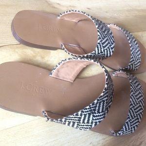 J. Crew Shoes - Jcrew slip on sandals