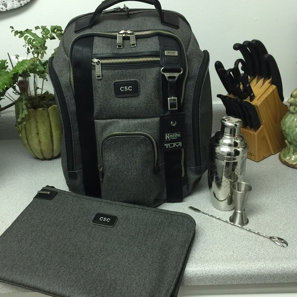 7a328a4439 Limited Edition TUMI Ketel One backpack shakerset.  M 57642b422fd0b7ee1b005aa1