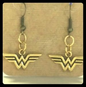 Jewelry - WONDER WOMAN EARRINGS $5 sale!!