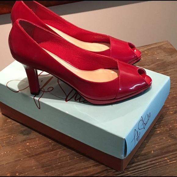 c92f6acc2d Life Stride Shoes - NIB! LIfe Stride Alli-Tristen Red Heels