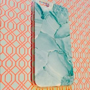 Accessories - Blue Marble Printed IPhone 6 phone case