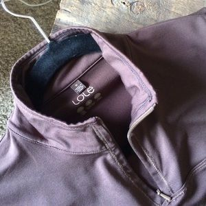 Lole Tops - LOLE | Small Brown Moisture Wicking 1/4 Zip