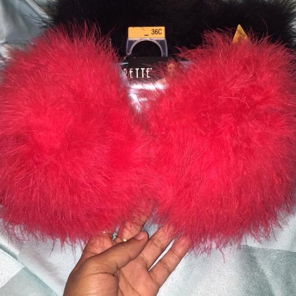 Furry Bras