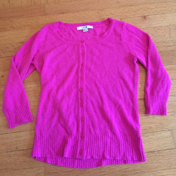 Forever 21 - New Hot Pink Cardigan Sweater from Megyn's closet on ...