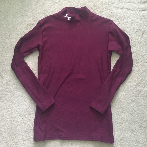 Under Armpur Maroon Compression Shirt. M 57643cce3c6f9f20930077f3 8a1d1ee4c0
